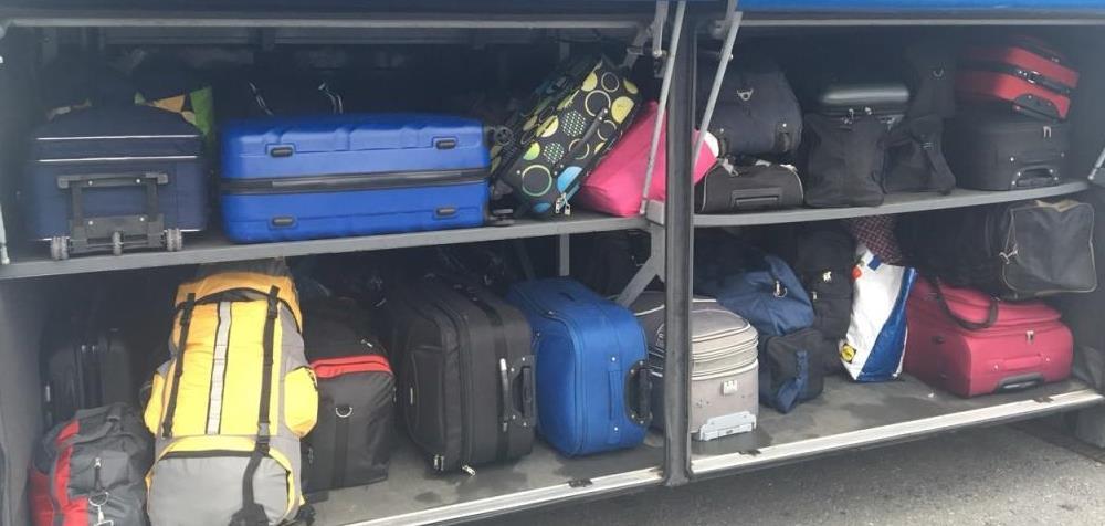 Перевозка багажа в автобусе